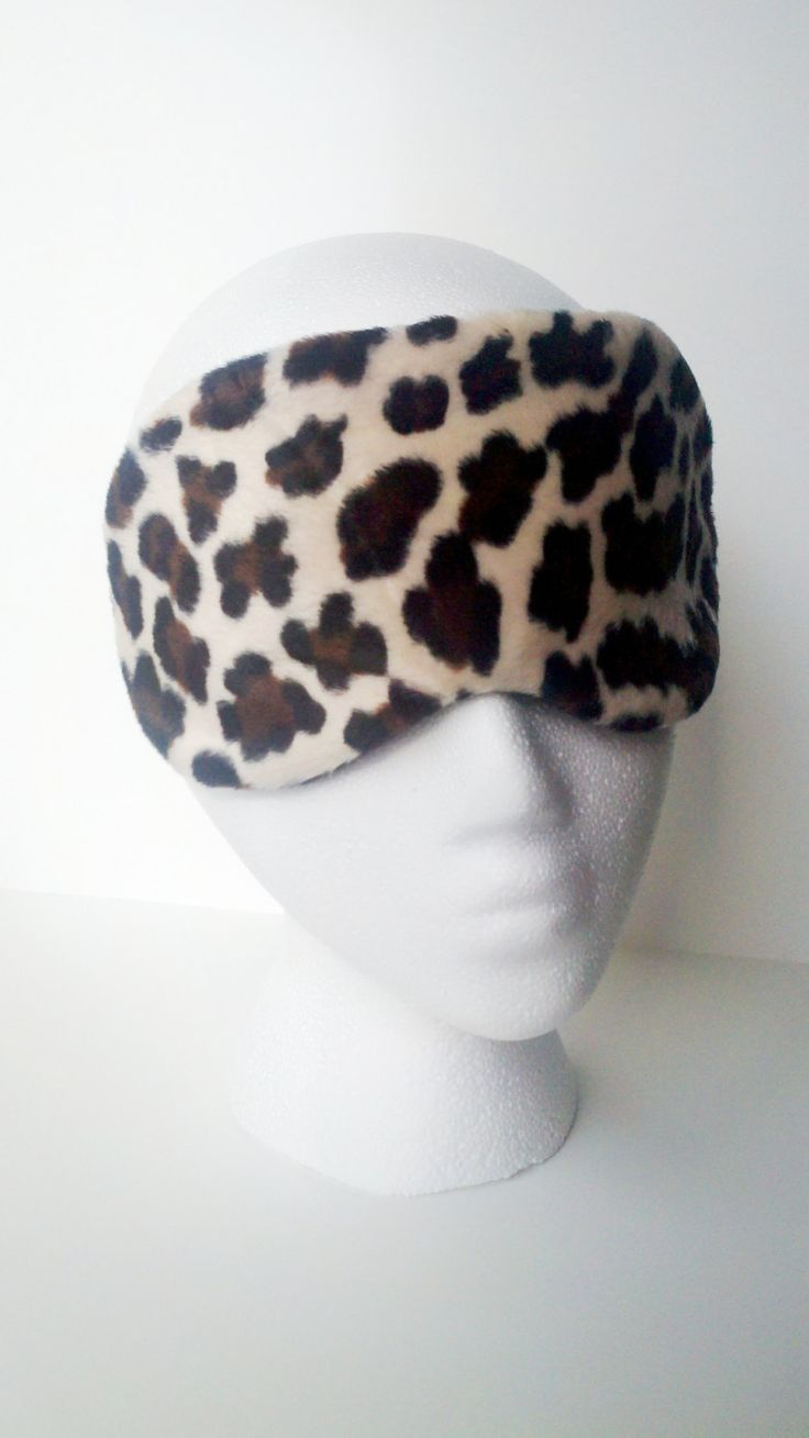 Velboa Cheetah Print Eye Mask for sleep or travel ~ Perfect for a Bridal Party or Shower Gift ~ MADE TO ORDER by ALittleXtraSomething on Etsy