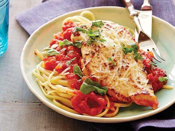 Chicken Parmigiana recipe from Ree Drummond via Food Network