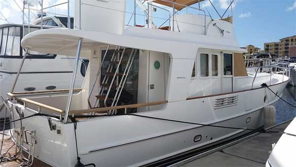 Fast Trawler Yacht Bene-Fits for Sale