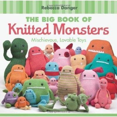 Le grand livre des monstres tricotés signé par par dangercrafts