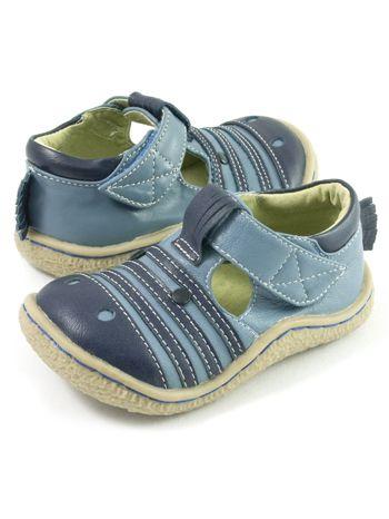 Livie & Luca Zebra Blue available at www.tinysoles.com! #TinySoles