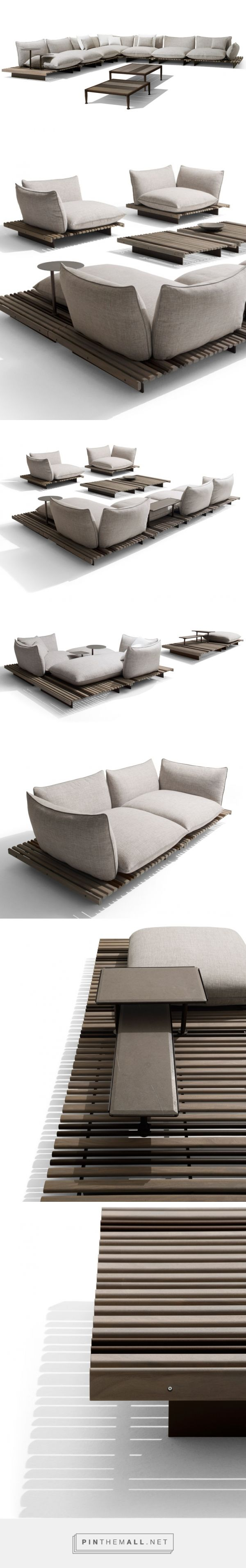 ludovica and roberto palomba aspara sofa for giorgetti - created via https://pinthemall.net