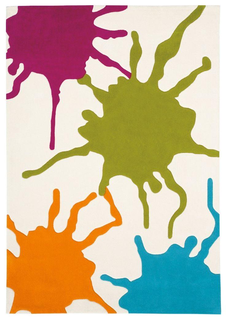 Vloerkleed Verfspatten Arte Espina Colour festival