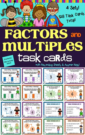 There are four (4) sets of cards in this pack - a total of 128 task cards! The problems included have varying levels of difficulty which will provide excellent practice to students at all skill levels