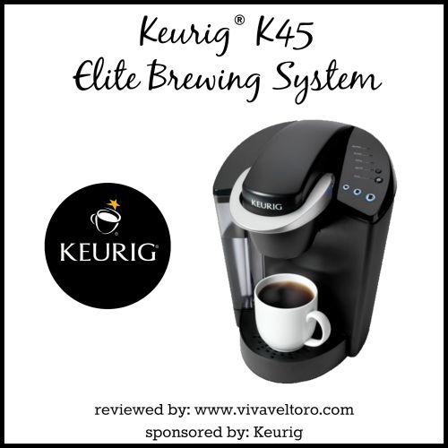 Keurig K45 Elite Brewing System Review, Plus a #Giveaway! #JustBrewIt - Viva Veltoro