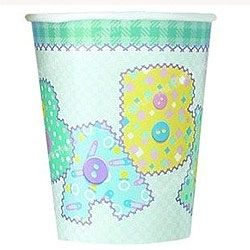 Stitch Themed Green Baby Shower Cup