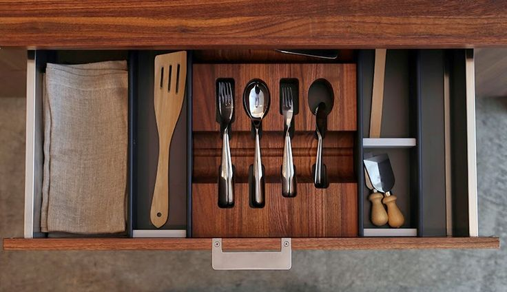 Accessory System kitchen Elegant and Highly Functional Drawer Accessories for Modern Kitchens