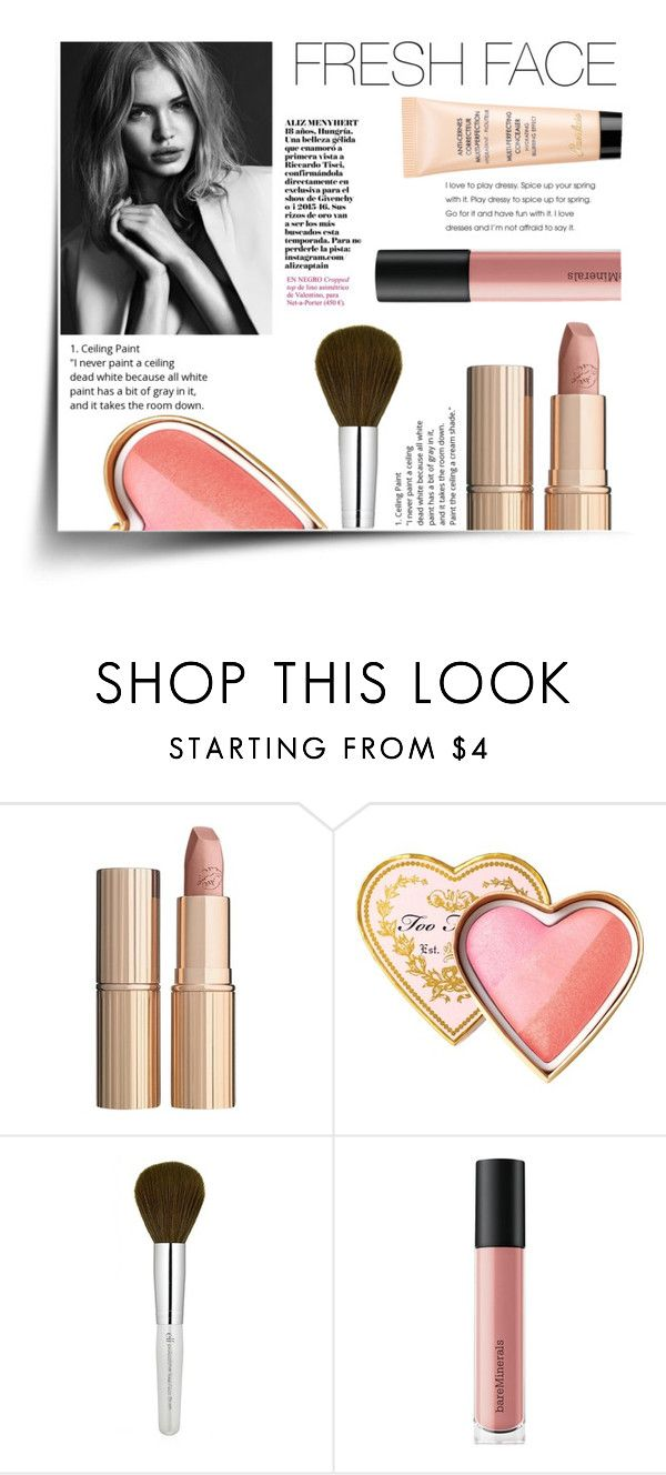"""""""The Fresh Face Look"""" by eirini-kastrou on Polyvore featuring beauty, Charlotte Tilbury, Too Faced Cosmetics, Bare Escentuals and Guerlain"""