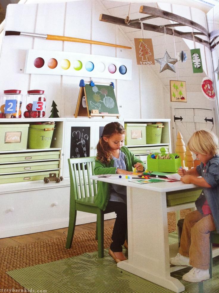 Pottery Barn Kids Art Table Elegant Catalina Storage Desk Simply - Pottery barn art table