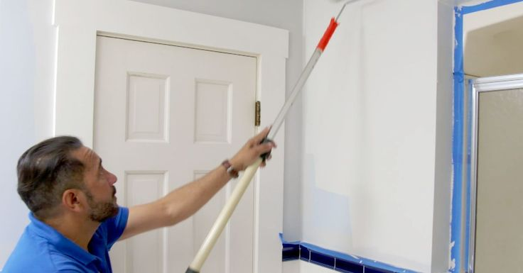 How to Paint a Mold-resistant Bathroom in 2020 | Painting ...