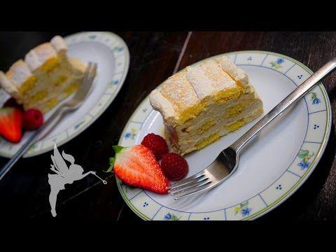 Kardinalschnitten - Klassische Kardinalschnitten - Weinbrand-Café-Sahne - Kuchenfee - YouTube