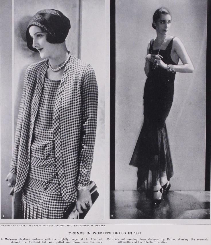 Vintage 1920s Womens Fashions