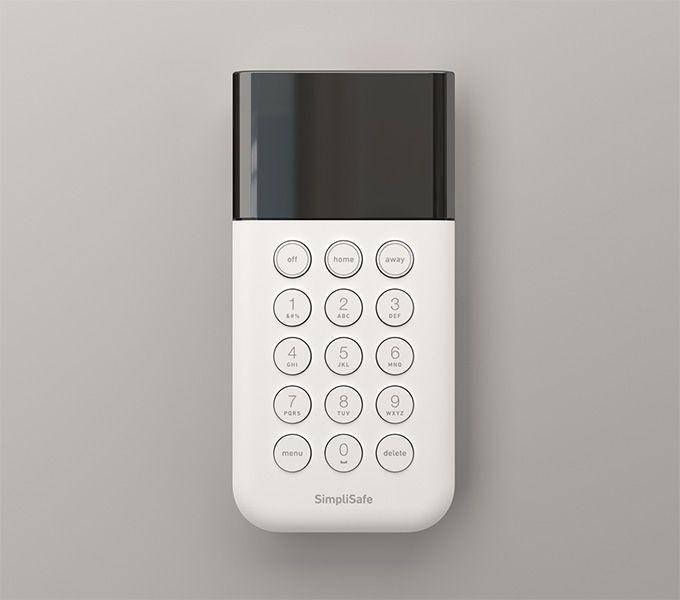 Simplisafe Keypad Home Security Wireless Home Security Systems Wireless Home Security