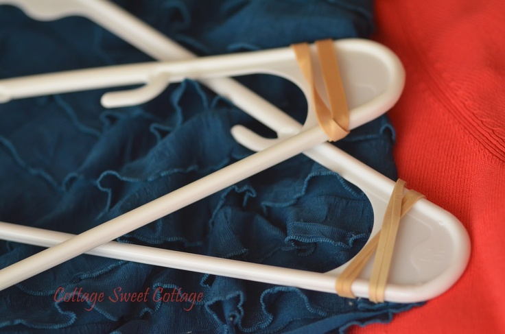 Cottage Sweet Cottage: Super Easy DIY Non~Slip Hangers
