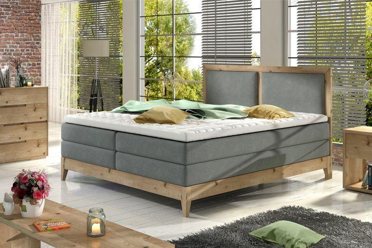 Debowe Lozko Kontynentalne Valva Pod Materace 140 X 200cm Maxmagazyn In 2020 Furniture Home Outdoor Bed
