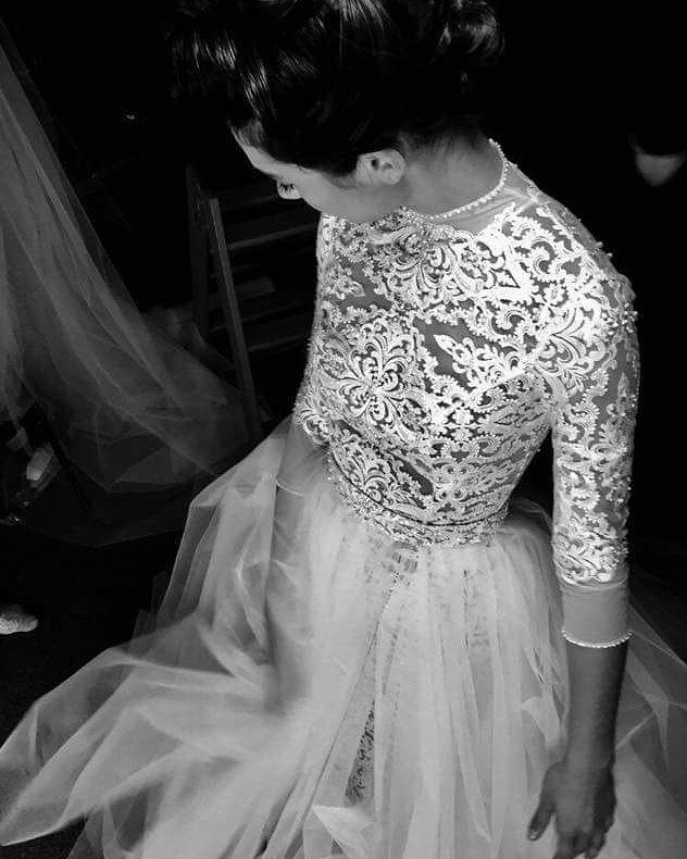 2018 Ersa Atelier Faith wedding dress