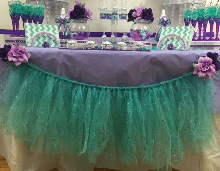 Little Mermaid Baby Shower Baby Shower Party Ideas | Photo 1 of 7 | Catch My Party