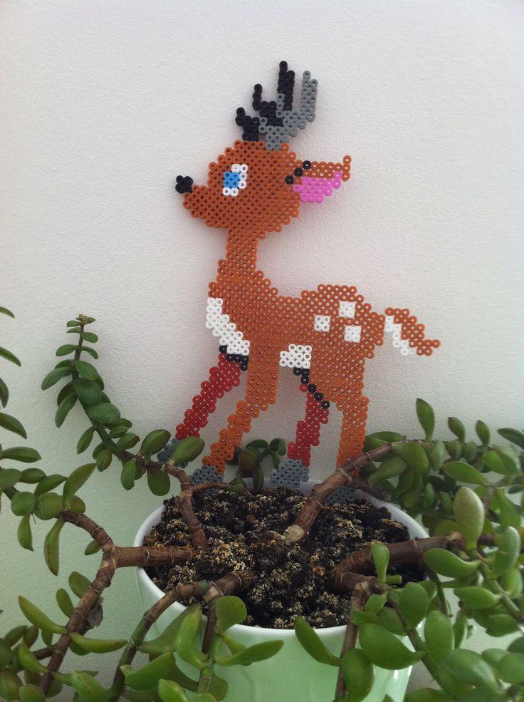 Deer   hama beads