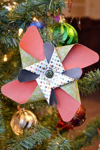 *We R* Pinwheel Christmas Ornament : Gallery : A Cherry On Top