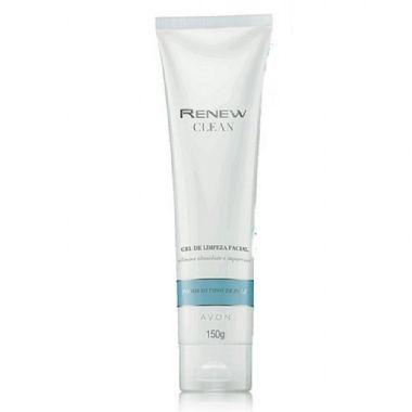 Gel de Limpeza Facial Renew Clean da Avon  