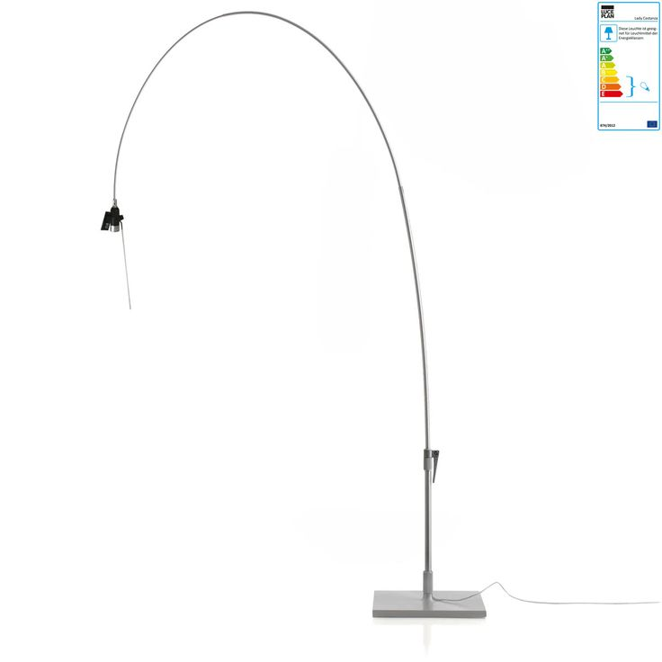 Luceplan - Lady Costanza Stehleuchte D13E d., dimmbar, aluminium (ohne Lampenschirm) Jetzt bestellen unter: https://moebel.ladendirekt.de/lampen/stehlampen/standleuchten/?uid=4c7ac8c9-b7a6-59e4-a605-b611f9205946&utm_source=pinterest&utm_medium=pin&utm_campaign=boards #stehlampen #leuchten #lampen