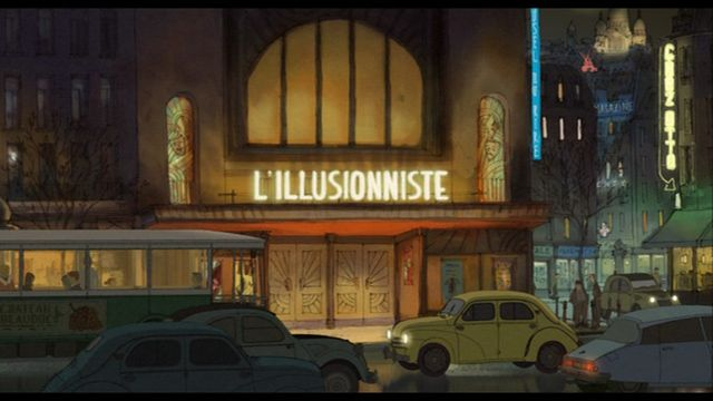 L'illusionniste (2010)  Directed by: Sylvain Chomet   Starring: Jean-Claude Donda, Eilidh Rankin   Country: France