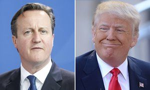 Donald Trump warns he may not have good relationship with David Cameron | UK news | The Guardian
