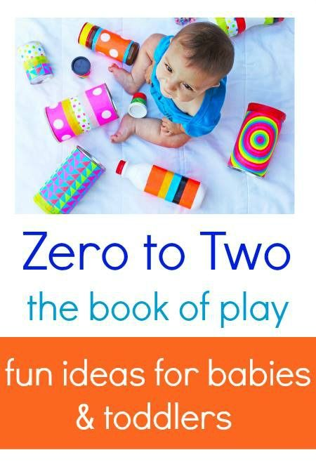 Play and games for kids:: Zero to Two eBook of Play. 25 ideas for babies and toddlers, additional links to over 50+ activities. Great resource for parents.