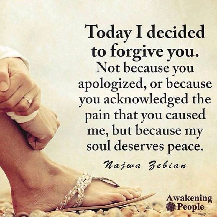 Why is this So hard? A continuous work in progress. Forgiveness is for you...not them.