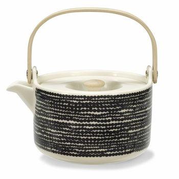 """Marimekko Räsymatto """"Rag Rug"""" Teapot"""