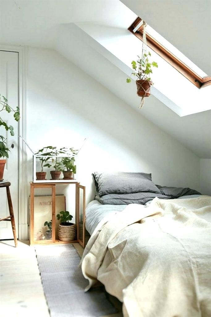 Image Result For White And Nature Bedroom Ideas Attic Bedroom