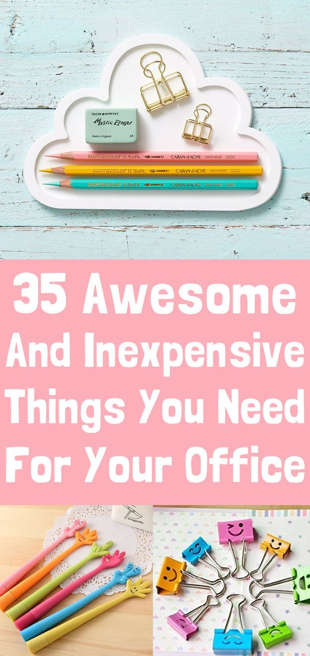 35 Insanely Awesome And Inexpensive Things You Need For Your Office