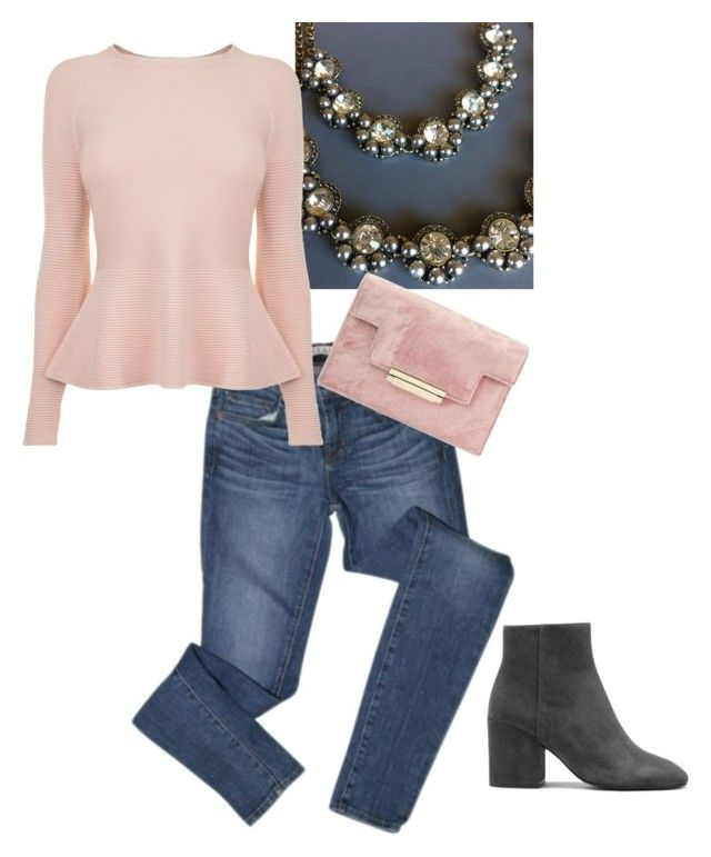 Violetta Double Strand by yourbijouxbox on Polyvore featuring BOSS Hugo Boss and J Brand