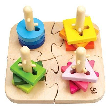 Hape® Creative Peg Puzzle : Target