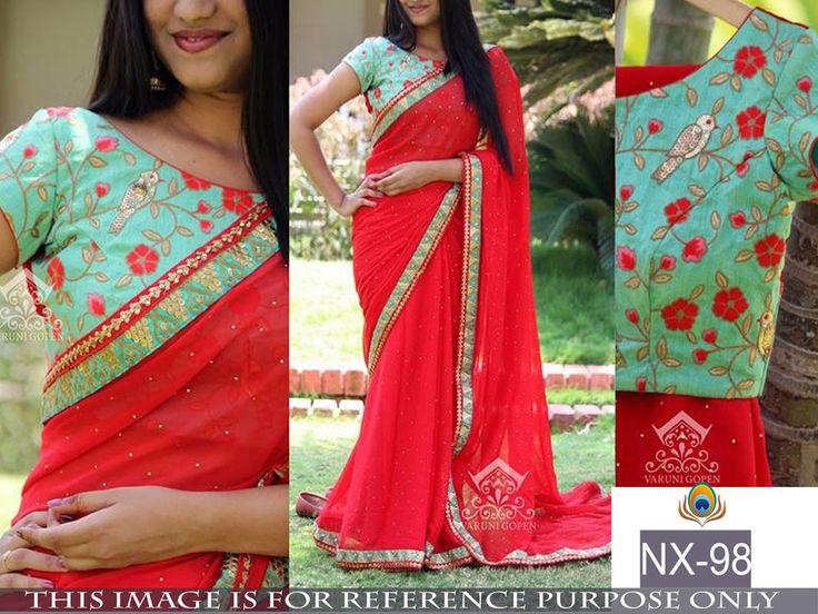 SFH Designer Bollywood Indian Sari Lehenga Party Saree Wedding Sale Women NX-98…