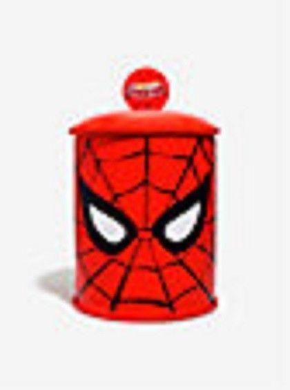 Spiderman Cookle Jar Marvel Animation Ceramic Kitchen Gift