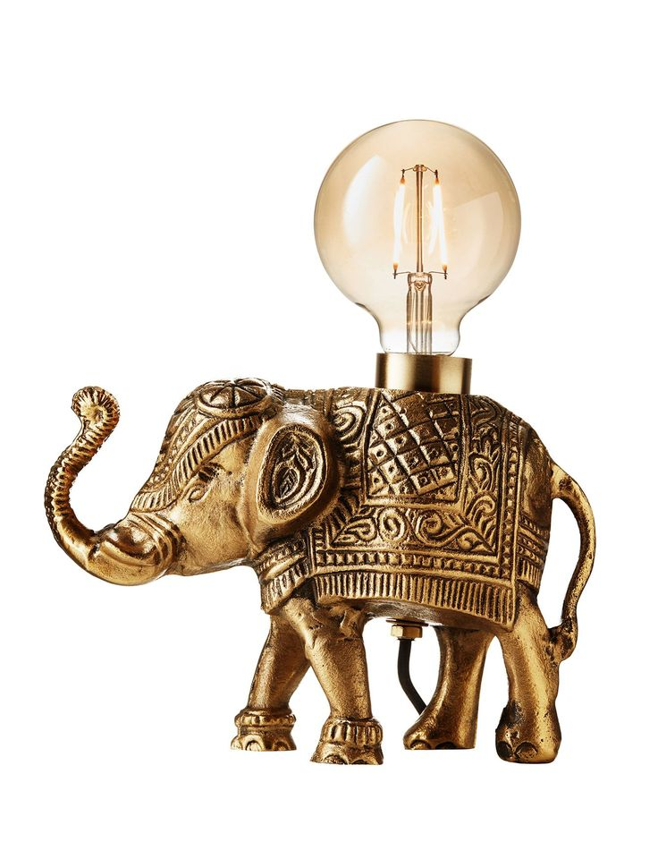 ELEPHANT TABLE LAMP Lampa