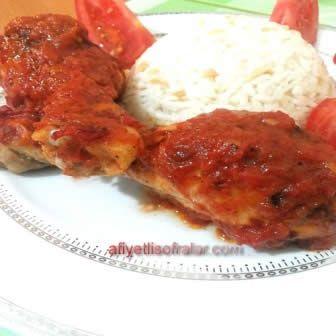 Fırında Soslu Tavuk Tarifi - Afiyetli Sofralar - Yemek Tarifleri