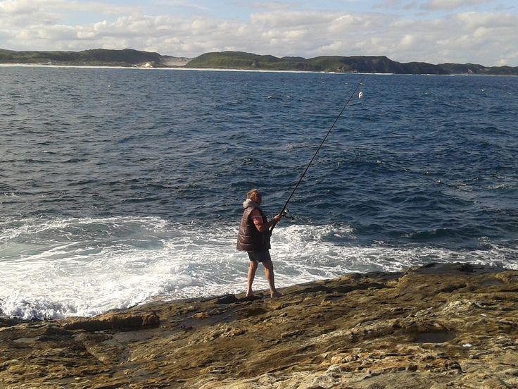 still fishing