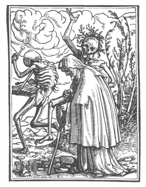 Hans Holbein le jeune, Danse macabre