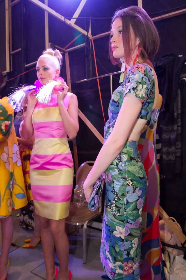 """YAKINTHI"" Fashion Show backstage Vassilis Zoulias Garments & Pericles Kondylatos Jewellery ""YAKINTHI"" Fashion Show backstage @ 16th ATHENS XCLUSIVE DESIGNERS WEEK by COCA - COLA light Backstage & Catwalk photos by Patricia Munster  ""YAKINTHI"" Fashion Show - Resort s/s 15 took place on FRIDAY 24th OCT. 2014 @ Ethniki Asfalistiki Center. Jewellery exclusively designed for Vassilis Zoulias by Pericles Kondylatos"
