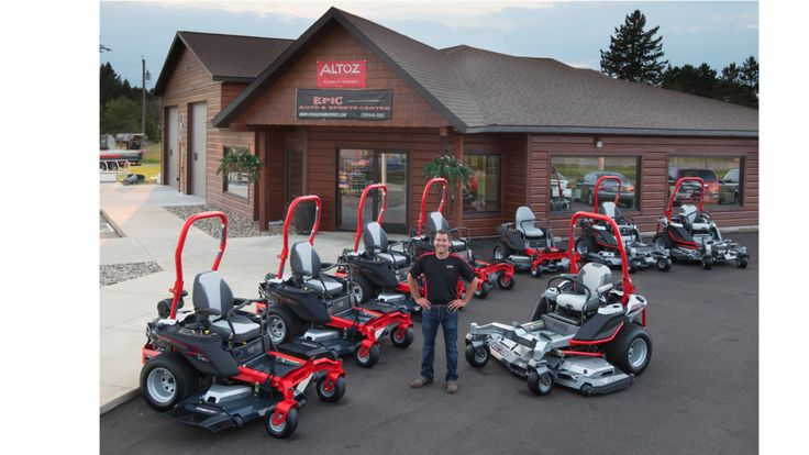 Minnesota trio opens dealership selling everything from cars and campers to waterfront toys and zero-turn mowers.