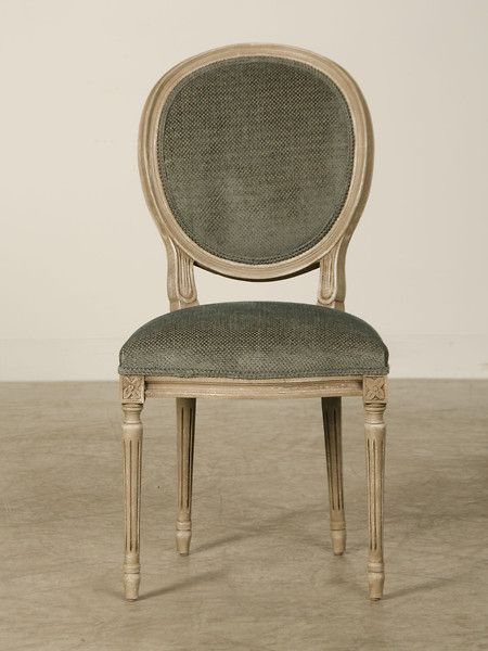 A Set, Two Arms And Six Sides, Of Oval Back Louis XVI Style Dining