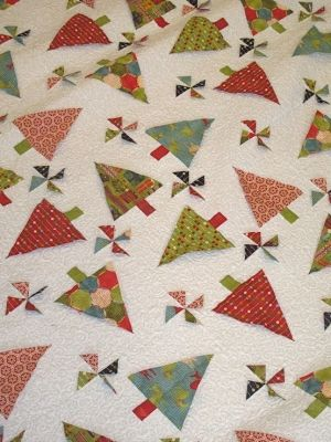Quilts Quilts Quilts by TheRiversEdge -- Substitute #AccuQuilt dies to cut the shapes for this project at www.accuquilt.com! #Holiday