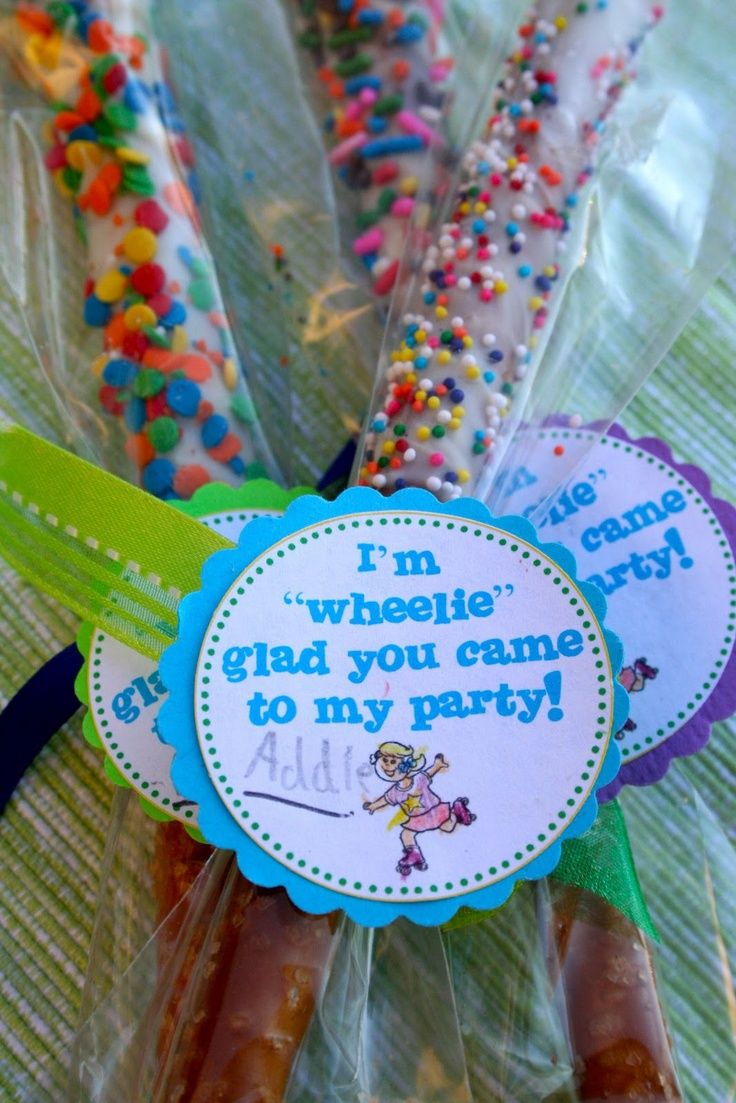 Roller skating party favors - Roller Skating Party Roller Skate Birthday Party