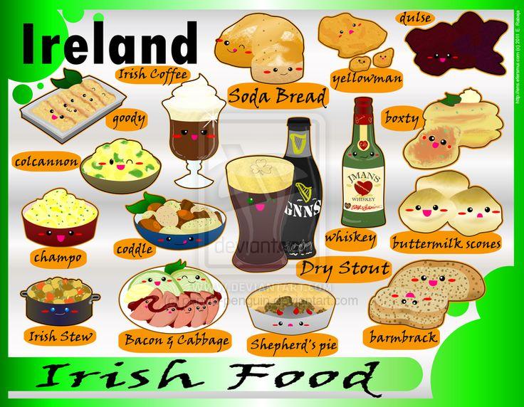 Foodies - Ireland by panda-penguin.deviantart.com on @deviantART