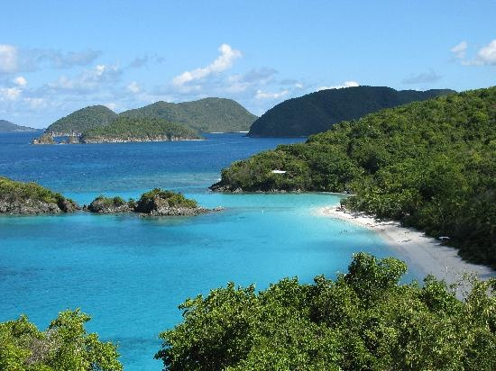 Trunk Bay on St John - a must see