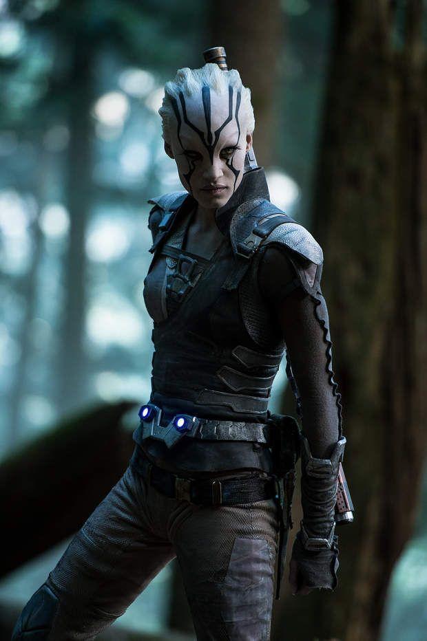 Méconnaissable sous le maquillage de Jaylah dans Star Trek : Sans limites,