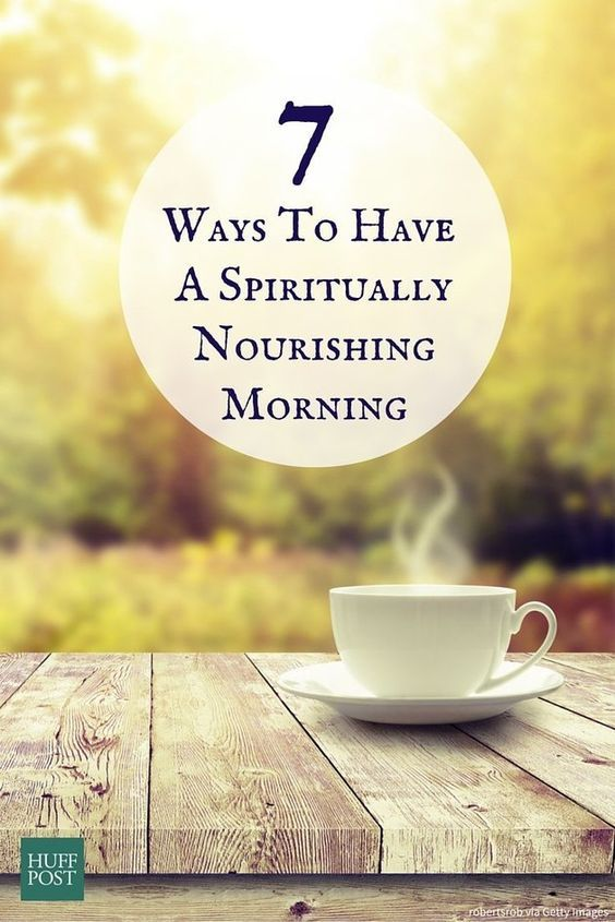 A spiritually refreshing morning ritual can help set you up for a day full of positivity. Here are a few simple tips on how to create a morning routine that will nourish your soul.