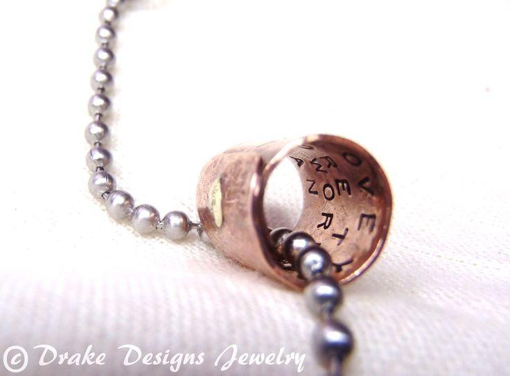 Secret Message Necklace Personalized Boyfriend Gift Girlfriend Gifts for Men by drakedesignsjewelry on Etsy https://www.etsy.com/listing/118533697/secret-message-necklace-personalized